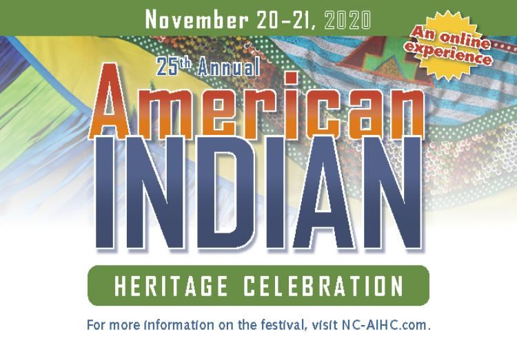 American Indian Heritage Month Celebration Flyer