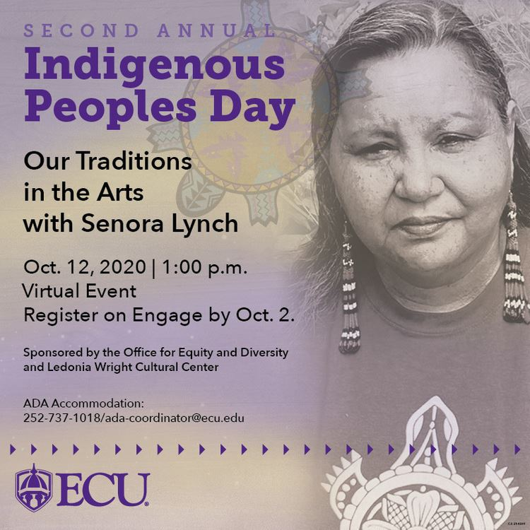 ECU Indigenous People's Day flyer