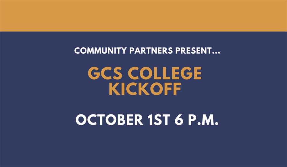 Spartans: Join us for our GCS College Kick-off Series