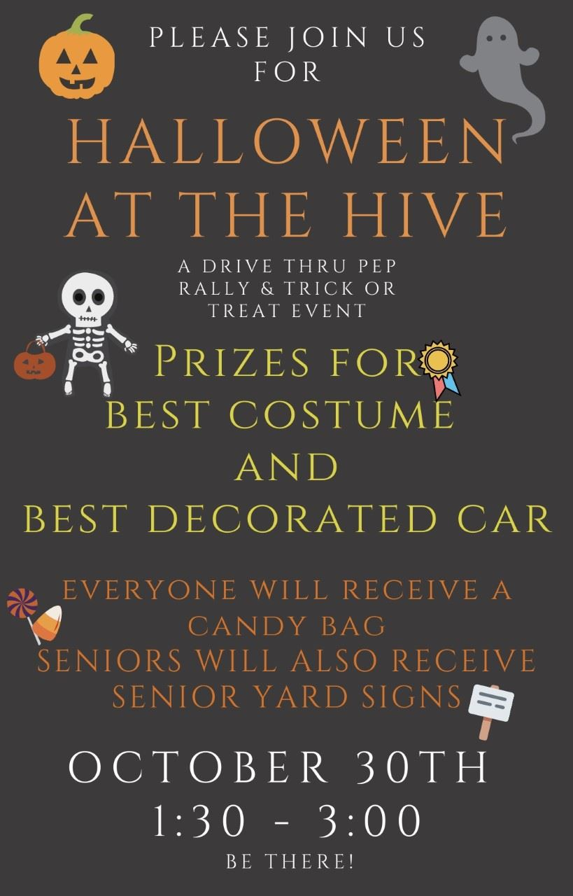 Halloween in the Hive Oct 30th 1:30-3:00pm