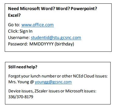 How to get MS Word, PowerPoint, Excel