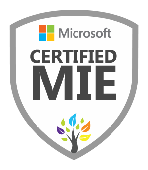 Image of Certified Microsoft Innovative Educator Badge