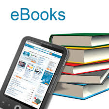 ipad with ebooks and books