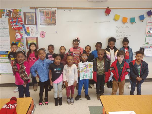 Students at Parkview Village Elementary