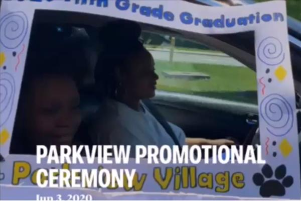 Check out the video of our Parkview Promotional Ceremony.  Congrats 5th grade grads!