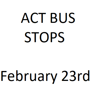 ACT Bus Information